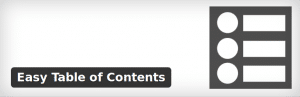 How to create a table of contents