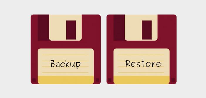 How to restore a WordPress backup