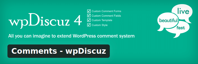 A nicer commenting system for WordPress